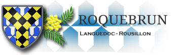 Site officiel de la commune de Roquebrun