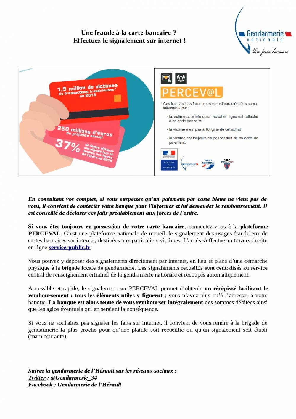 Article Fraude à la carte bancaire page 001